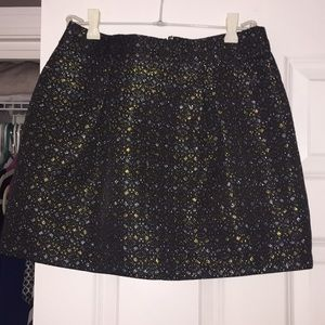 Holiday mini skirt!